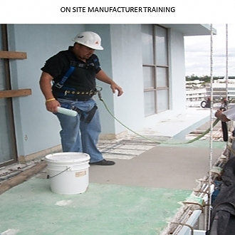 On Site Manufacturer Training