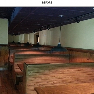Commercial Buildout- Hibachi Steakhouse